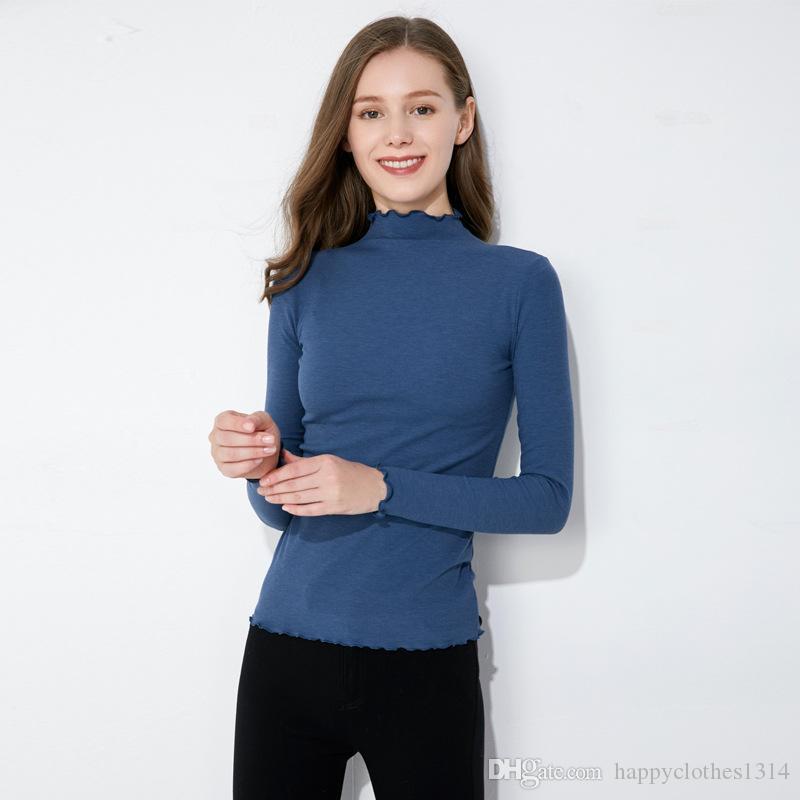 Lüks Moda Kış Örme Elbiseler Kadın Bahar V-Yaka fırfır Kazak Günlük Elbise Büro İş Lady İnce Kazak Örme Elbise