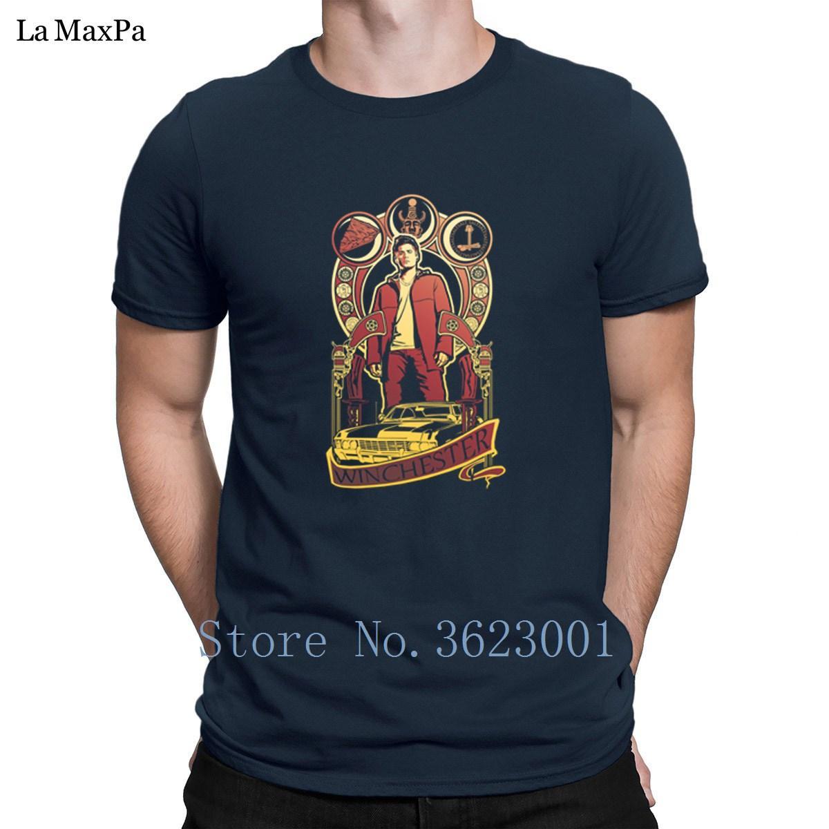 Designs Kurzarm Winchester Nouveau-T-Shirt 2018 Weird-T-Shirt Große T-Shirt für Männer-Qualitäts-Muster
