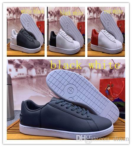 Großhandelsmens-hochwertiges freies Verschiffen Chaussures Krokodil Marke Freizeitschuhe Mode Turnschuhe Luxuxentwerfer Ledersport 40-45