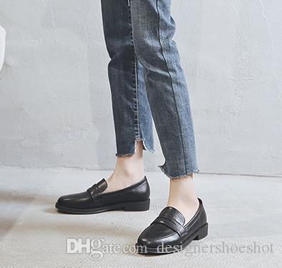 L11 Moda Popüler Yüksek Kalite Lightweig Sneaker Erkek Kadın Rahat Ayakkabılar Rahat Dantel Kadar Deri Rahat Klasik Flats Ayakkabı