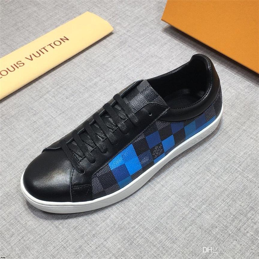 20WR 2.018 nuevos pisos MANS zapatos casuales hombre MANS zapatos respirables del sexo masculino al aire libre MANS manera clásica plana zapatos de lona para pisos MAN YETC8