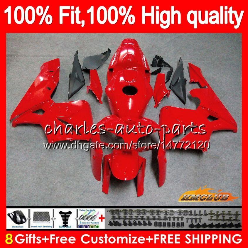 Injektionsform för Honda CBR600RR Fabrik Röd ny CBR600 RR 2005 2006 80HC.30 CBR600F5 CBR 600F5 600RR 05 06 CBR 600 RR F5 05 06 FAIRING OEM