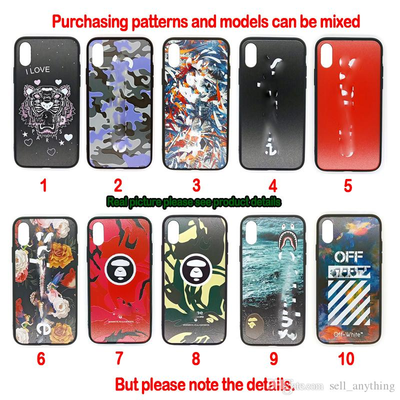 For Iphone 11 Pro Xs Max Xr Ape Head Phone Case 6 7 8 X Plus Designer Brand Luxury Fashion Cell Phone Cases