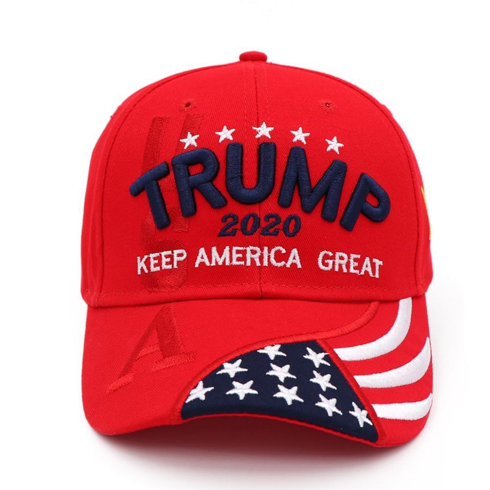Unisex Baseball Cap presidente Donald Trump Hat 2020 Manter tornar a América Great Again bordado 3D Protetor solar Hat para as Mulheres Homens New kneDg
