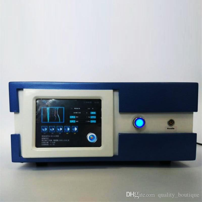 Hot Sale! German imported compressor 7 bar shock wave therapy machine extracorporeal shock wave therapy CE