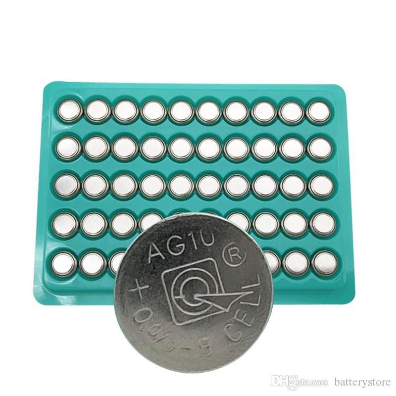 250PCS المصنع مباشرة LR1130 AG10 بطارية زر LR1130 1130 SR1130 389A LR54 L1131 389A 1.5V بطارية زر بأسعار معقولة لمشاهدة اللعب، الخ.