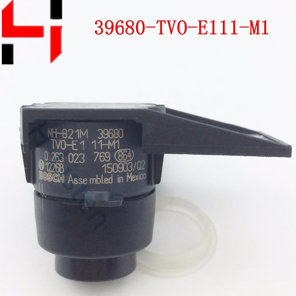 Capteur de stationnement PDC Parktronic 39680-TV0-E11ZE pour RLX 39680-TVO-E111-M1 Noir Gris argenté