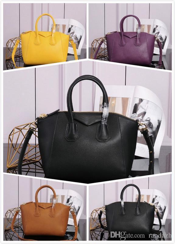 La bolsa de asas nueva famosos otoño bolsas de moda de la PU de las mujeres del cuero del bolso de hombro de alta calidad de las señoras Handbags2019 de gran capacidad