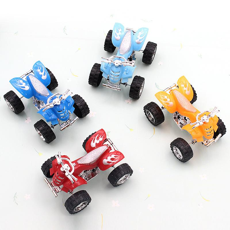 Huili beach motorcycle model children's toy car boy simulation small gift wholesale stall source hot