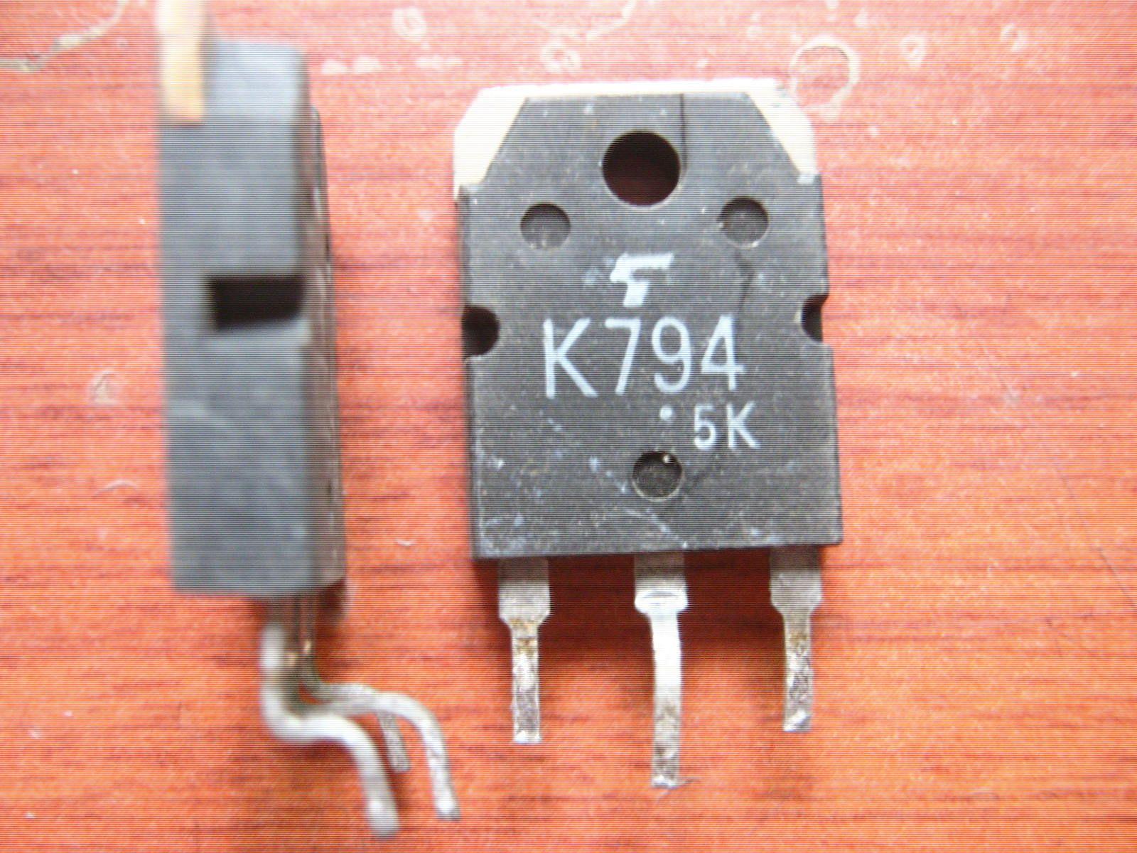 Transistor de efeito de campo usado original 2SK794 K794 MOSFET para-247 para-3P teste ok