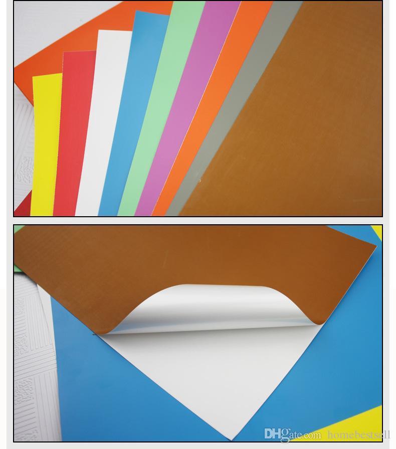 10 листов / мешок высокое качество A4 красочные водонепроницаемые клейкие наклейки печать Paperlaser печатная бумага A4 печатная бумага