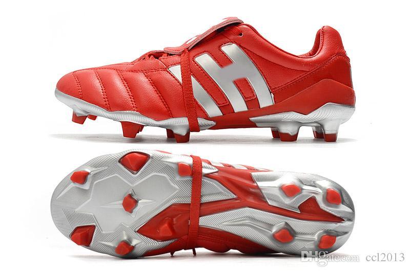 Hot Classics Predator Accelerator Electricity Precision MANIA FG Beckham DB Zidane ZZ 1998 Men soccer shoes cleats football boots