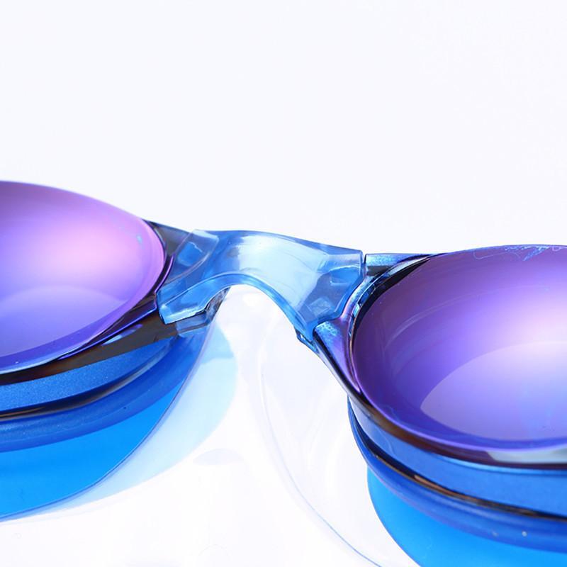 السباحة سيليكون المضادة للضباب المغلفة الديوبتر المياه السباحة نظارات النظارات الطبية قناع الكبار البصرية قصر النظر نظارات السباحة