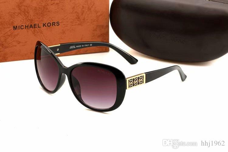 Brand Sunglasses new Designer Large Metal Sun Glasses For Men Women Silver Mirror 56mm 62mm Glass Lenses8891 UV Protection