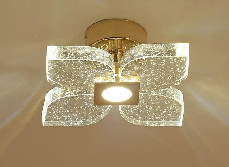 Haute Qualité Trois couleurs variables Lumière Pétale européenne bullé Applique Aisle Corridor Lighting Llfa