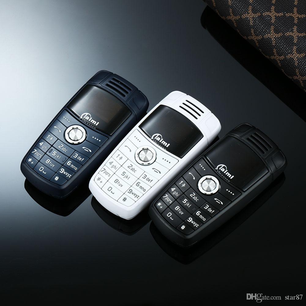 Super Mini Keychain X6 Petit téléphone portable double Sim Bluetooth Dialer magique Enregistreur vocal Mp3 enfants Mini Cartoon clés de voiture Téléphone portable