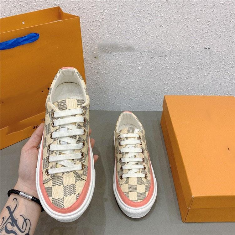 2020 nuevos zapatos de cuero de la manera más Huir zapatilla de deporte zapatos de moda para los hombres con la caja original del corredor Aire libre Chaussures vierten Hommes