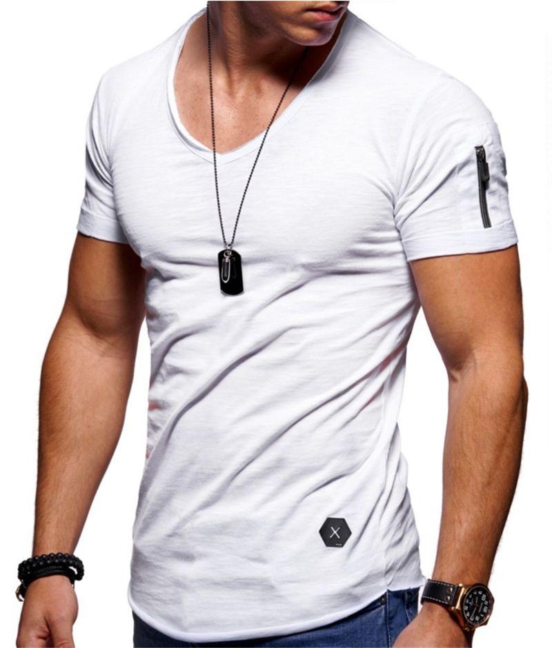 DHL erkek Rahat Slim Fit Kısa Kollu Yaz Kısa Kollu Crewneck Pamuk T-Shirt S-5XL