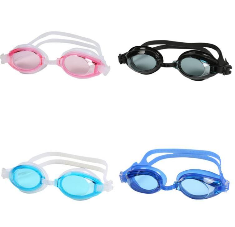 adulte Lunettes de natation Lunettes anti-buée pour les grands garçons filles hommes femmes Lunettes de natation enfants Lunettes de sports nautiques Swim Lunettes