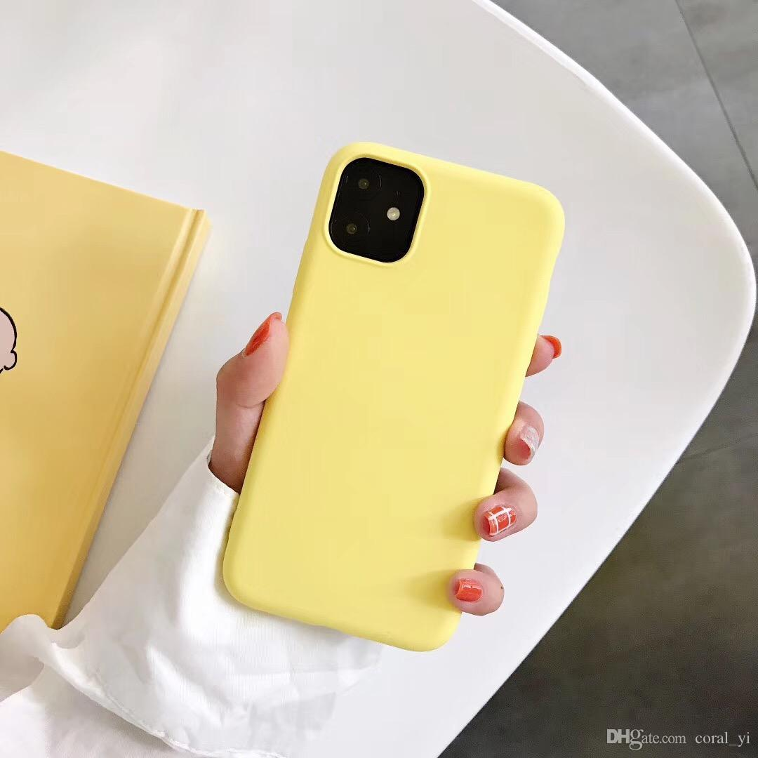 ORIGINALE SILICONE SOTTILE Custodia Cover Per iPhone XR XS 11 Pro