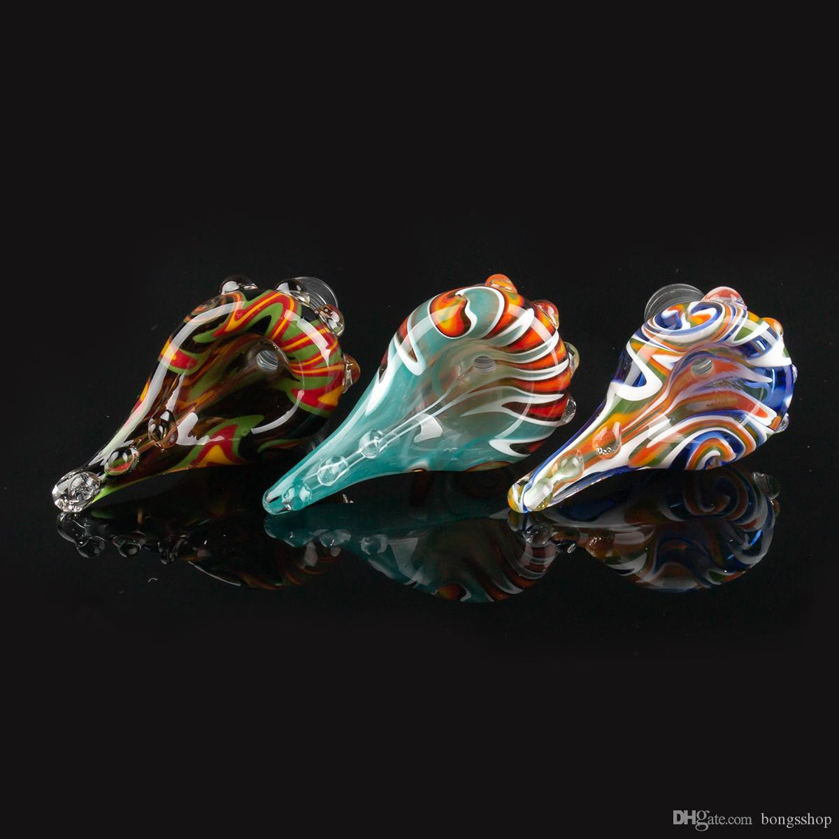 Популярные Красочные стеклянные чаши 14 мм 18 мм мужской прозрачный Совместный шар с головками стеклянные чаши кусок курительные принадлежности для стеклянных бонгов Dab Rigs