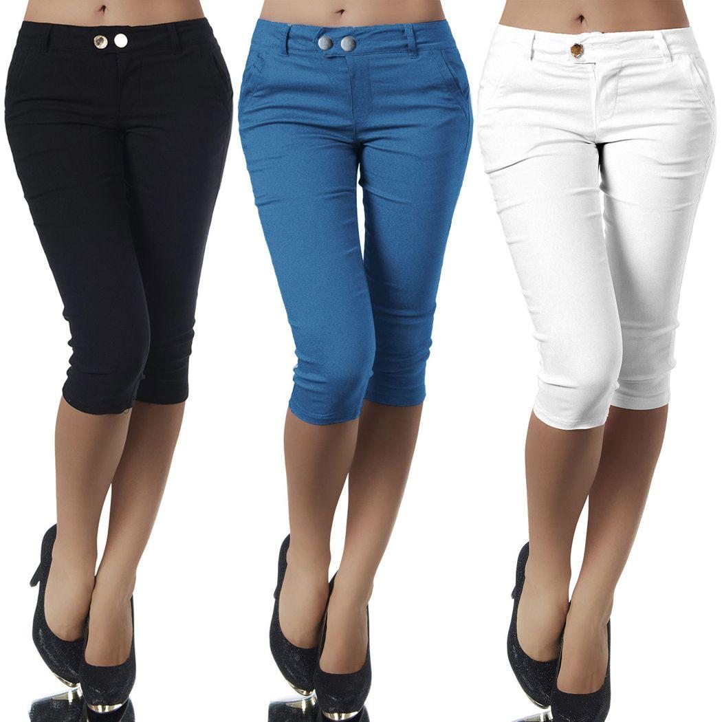 Compre Tallas Grandes Casual 3 4 De Longitud Pantalones Pitillos Para Mujer Damas Recortadas Elasticos Leggings Pantalones Lapiz Capris Elastico Algodon Capri Pant Mx190716 A 8 77 Del Buyocean03 Dhgate Com