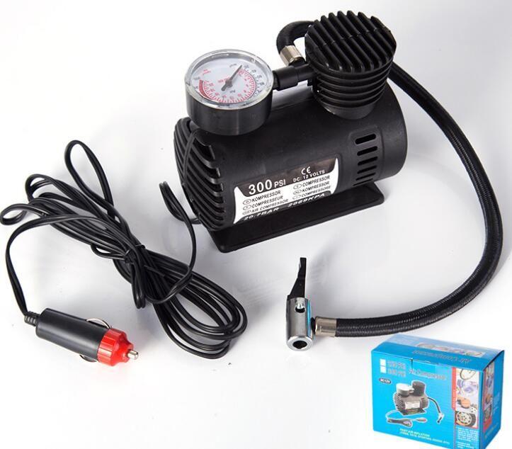 Factory Outlet Tire Inflator Locomotive Air Pump Gift Car Mini Air Pump