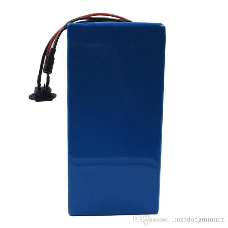 5000W 72V 50Ah 리튬 배터리 팩 72 V Ebike Tricycle 휠체어 배터리 35E 셀 100A BMS 및 84V 4A 충전기 무료 세금