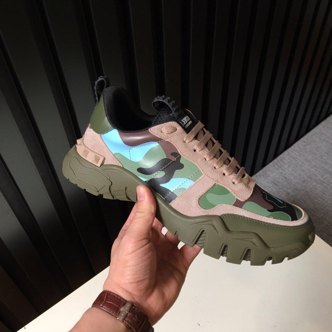 KAL38New baskısı Fransız serisi üst seviye erkek ler rahat ayakkabı, erkek ler botları moda spor ayakkabı, orijinal ayakkabı kutusu ücretsiz teslimat 38-44 sınırlı