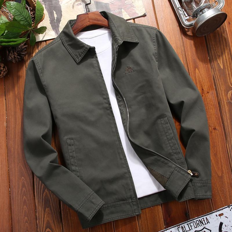 Männer Jacken Bomber Reißverschluss Jacke männlich Casual Streetwear Hip Hop Slim Fit Pilot Mantel Männer Kleidung Plus Größe Grün Windjacke HH50JK30