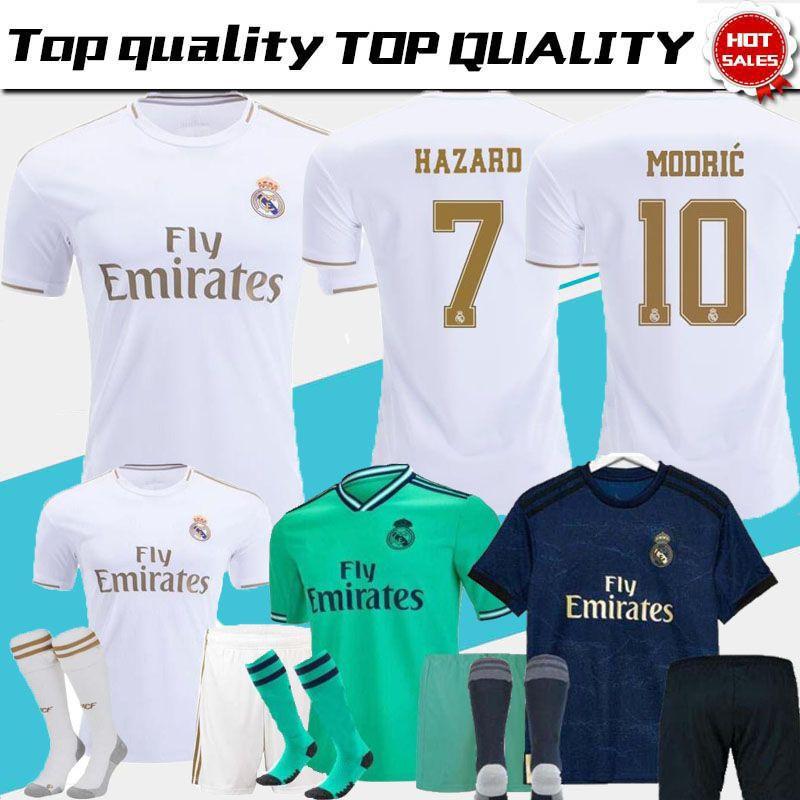 19 20 ОПАСНОСТИ Jovic MILITAO Camiseta де fútbol 2019 2020 Виниций Asensio футбол рубашки дети Камиза де Futebol