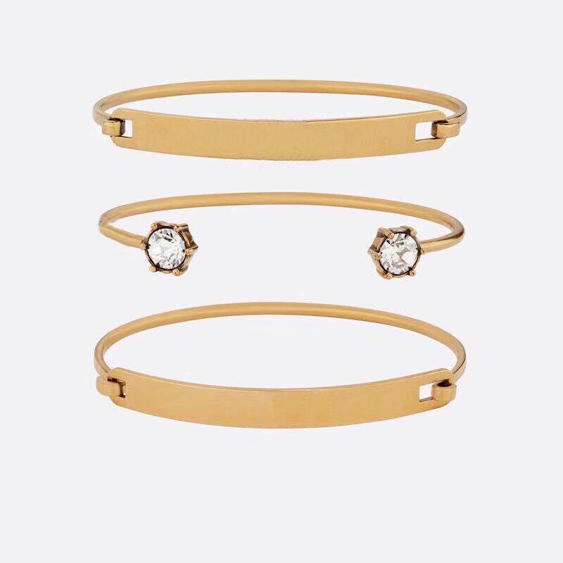 패션 브랜드는 우표 CZ 디자이너 팔찌 여성 결혼식 애호가 선물 약혼 럭셔리 쥬얼리 Box HB520