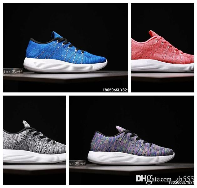 2017 New Racer Free Run Lunarepic Shoes For Men Women Casual Racers Lightweight Breathable Lunar Epic Sneakers 36-44
