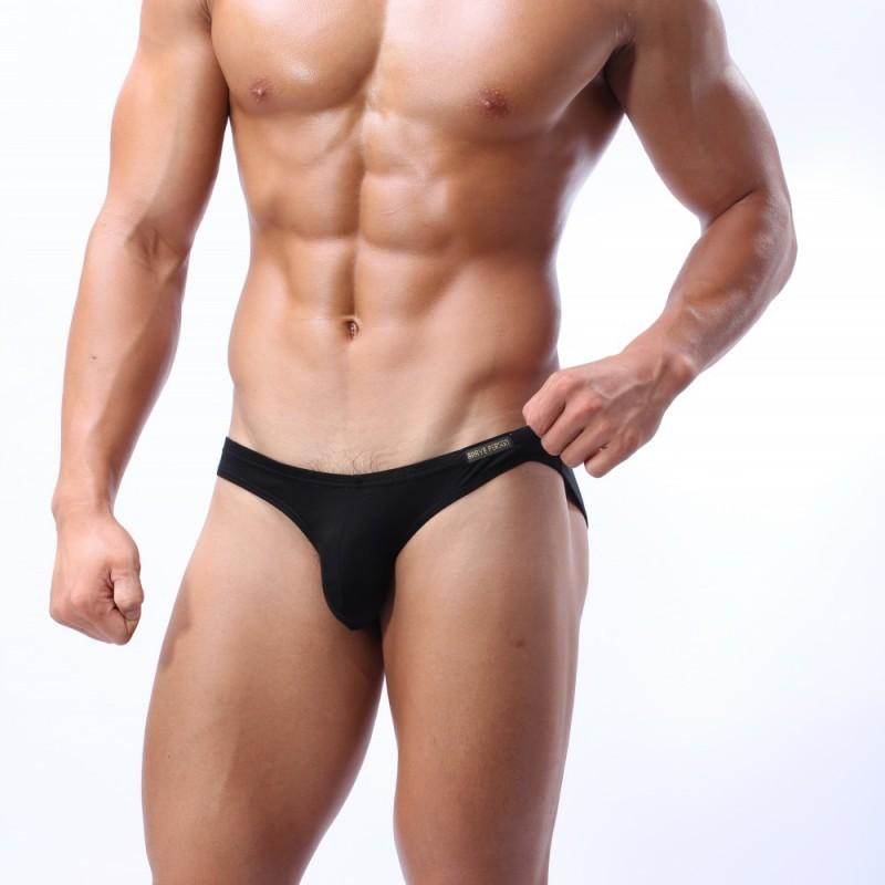 mens designer underwear BRAVE PERSON fearless captain modal U convex pocket briefs BR1112