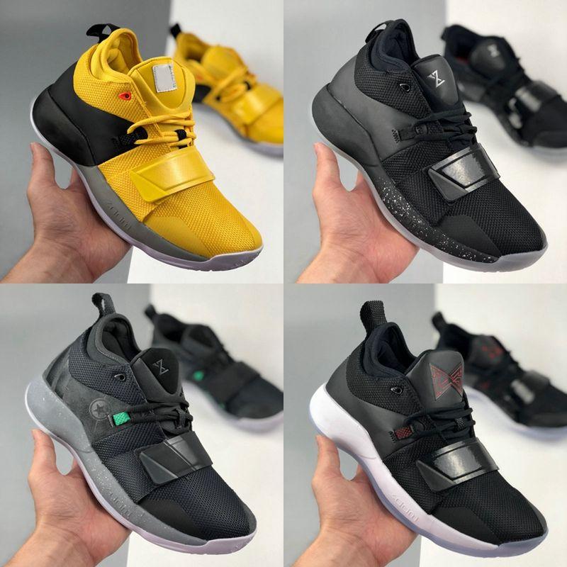 2020 новый Paul George PG 2.5 EP желтый черный белый мужские баскетбольные туфли PG2. 5 тренеры спортивные кроссовки des Chaussures Zapatos