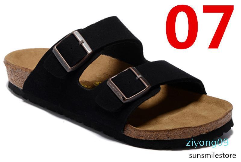 Arizona 2020 Nueva Cork verano de la playa del deslizador de las chancletas de mujeres de las sandalias color mixto, zapatos casuales Diapositivas plana envío gratuito US3-15 AF09