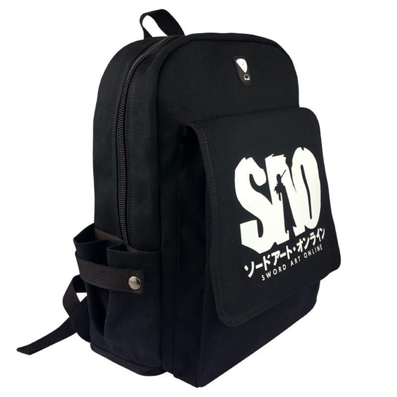SPN Supernatural canvas Backpack Leisure knapsack Schoolbag Zipper shoulderbag