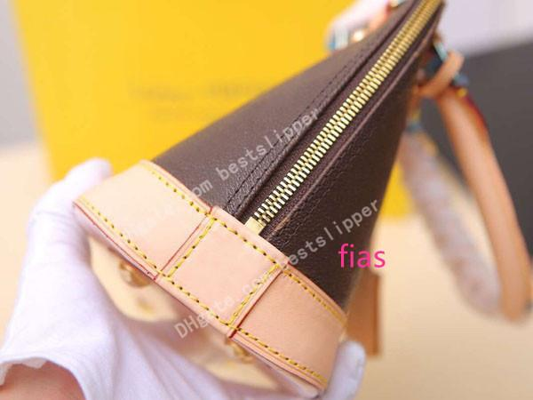 Дизайнер роскошные женщины раковина сумочка из натуральной кожи Алма BB 53152 классический стиль мини-сумка сцепления плеча сумки креста тела сумка