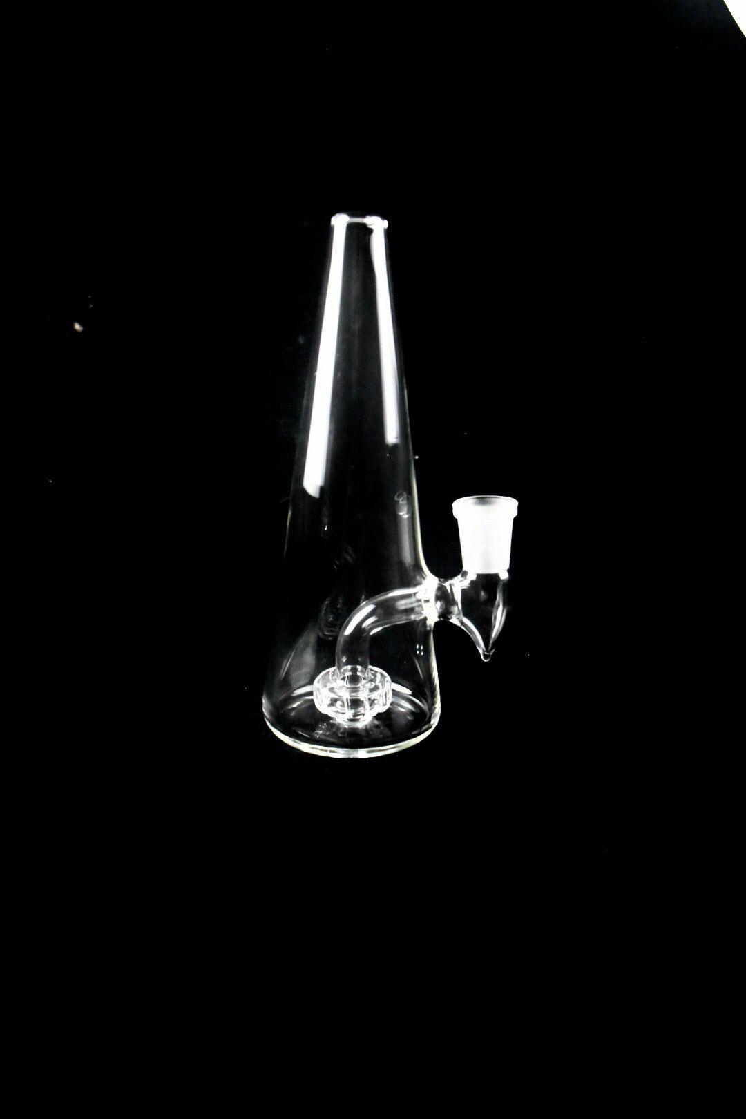 Neue Art-Fabrik-Preis Heady Bongs Rig Rauchen Glaspfeifen Bunte Glas BongBig Beaker Bohrinsel 14mm Glasschüssel Schwarz