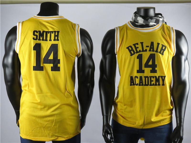 Принц из Беверли-Хиллз 14 Will Smith тропики Semi Pro Movie Мужского Джерси 100% прошитого высокого качество Баскетбол Джерси Вышитого