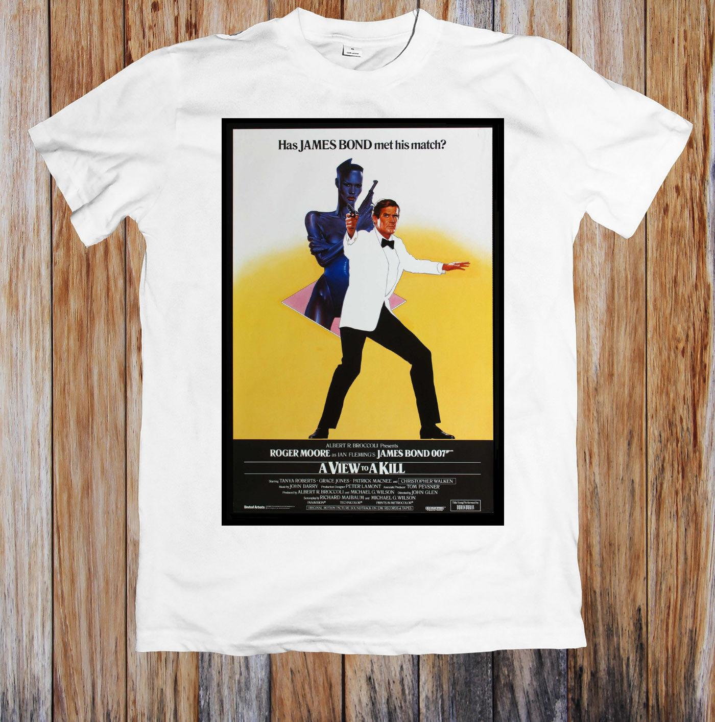 A View To A Kill 80s Movie Poster Unisex T Shirt