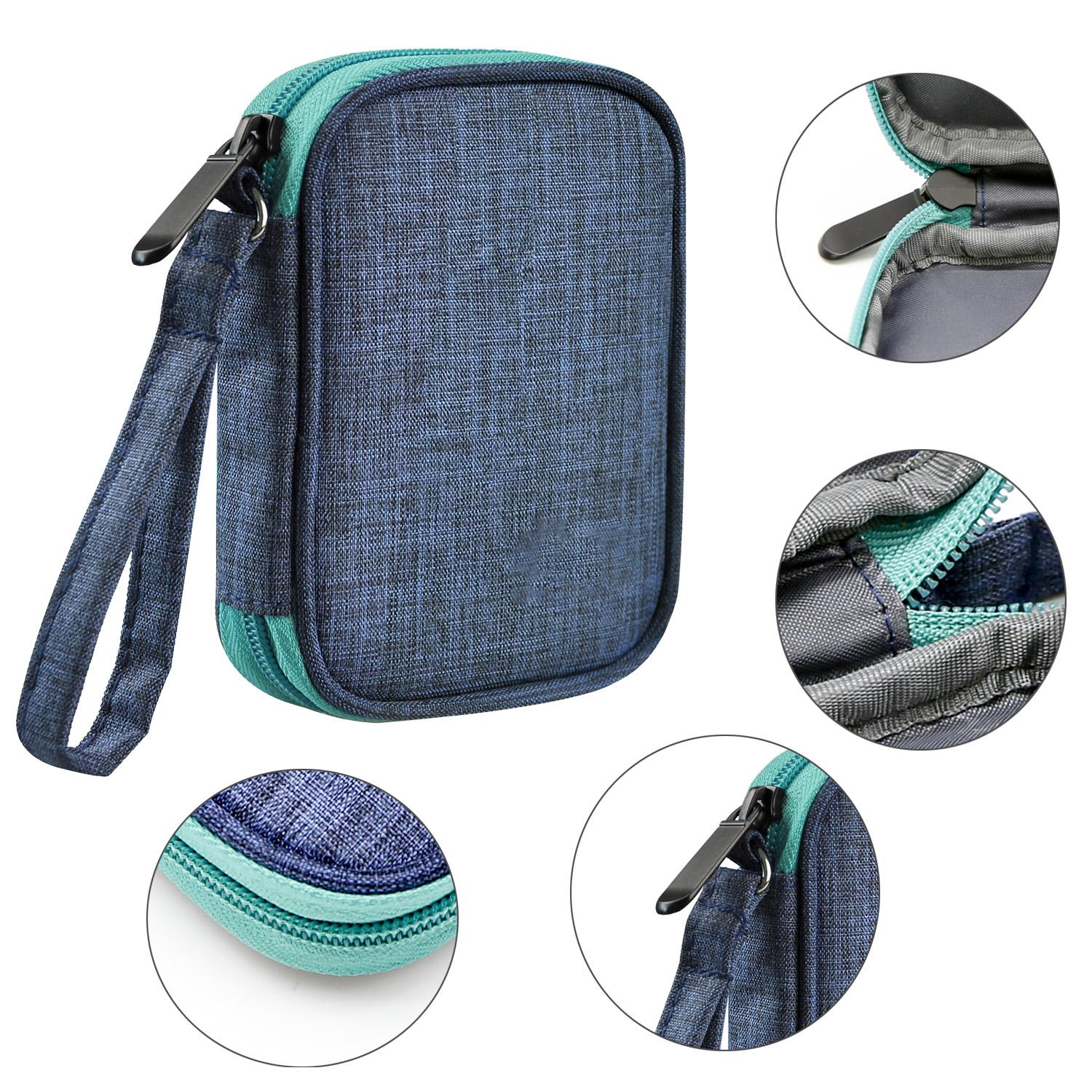 travels storage bag for uno case for card games soft cloth waterproof scratch protection for uno cards outdoor game camping