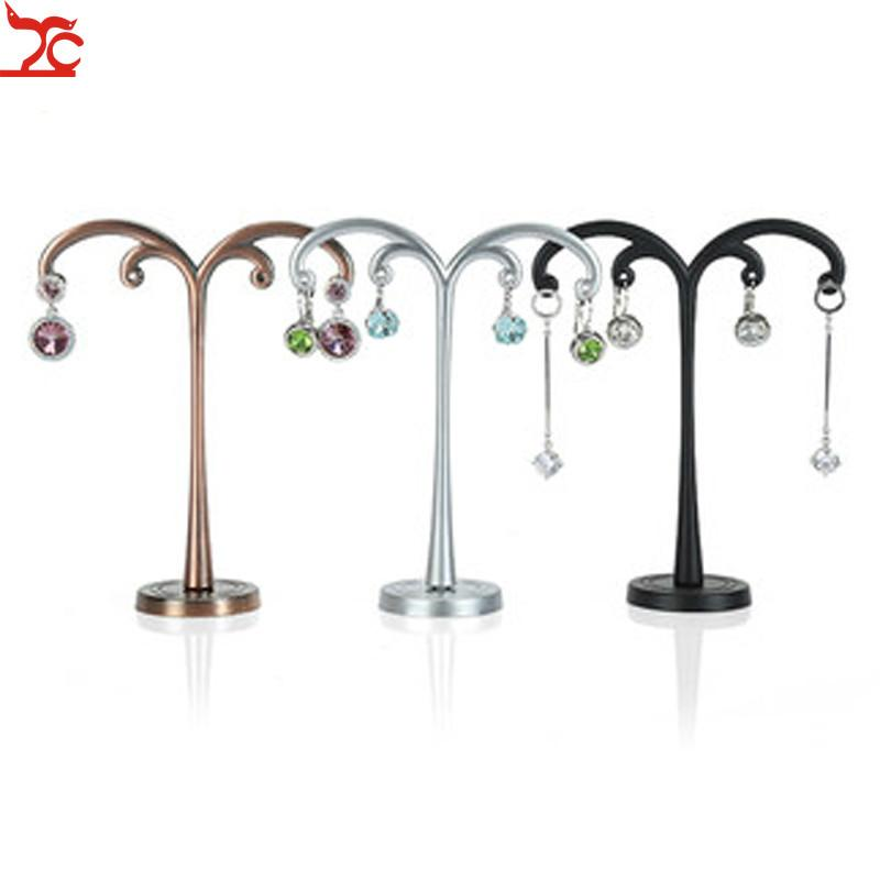 Metal Earrings Shelf Display Stand Earrings Jewelry Stand Retro Jewelry Props Creative Decoration