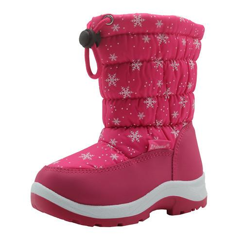 Non-Slip Kids Shoes Girls Snow Boots with Woolen Lining Color : Peach , Size : 8 M US Toddler Toddler//Little Kid Durable