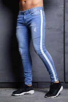 Compre Caliente Nuevos Pantalones Juveniles De Alta Calidad Pantalones De Hombre Pantalones De Moda Casual Pantalones Delgados Para Hombre Pantalones Vaqueros S 2xl A 21 86 Del Boy Top2028 Dhgate Com