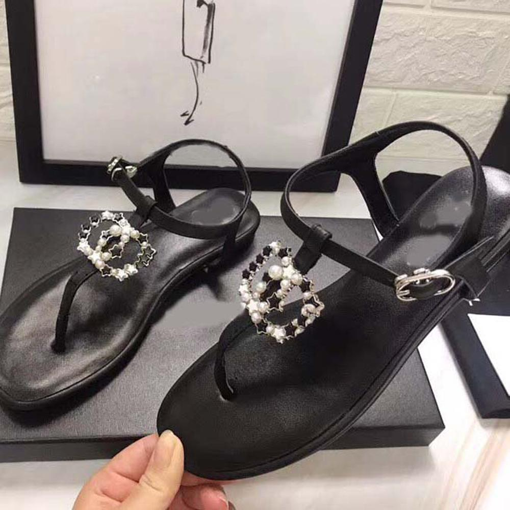Frau Pantoffelschuhe Hausschuhe Qualitäts-Pantoffel die Freizeitschuhe Sneaker flache Schuhe schieben Eu: 35-40 Mit Box 02XNE1802