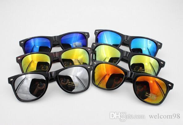 10 قطعة / الوحدة مزيج الألوان القيادة الرياضة uv حماية الشمس النظارات الشمسية اكسسوارات الأزياء للعيون هدية al35 *