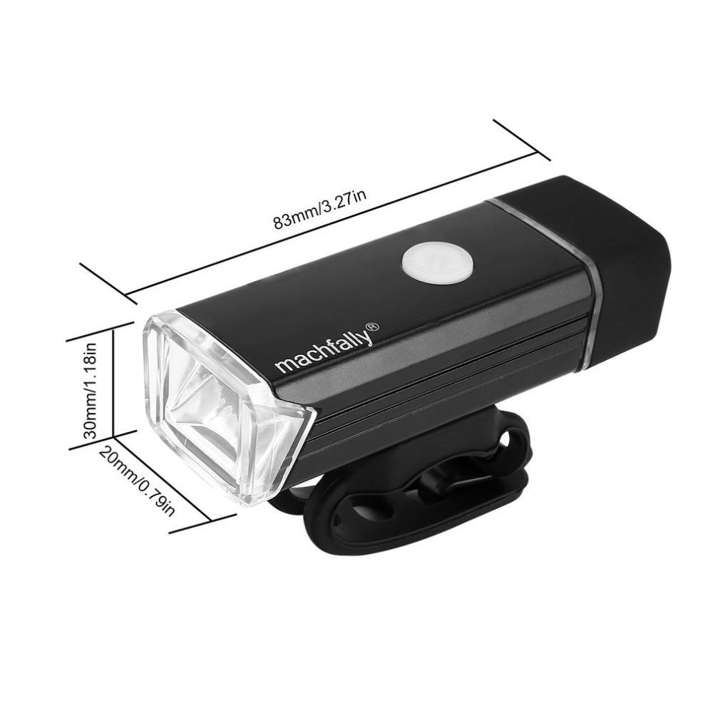 Wasserdichte Fahrradbeleuchtung vorne Kopf-Licht-Scheinwerfer-Lampen-hintere Endstück-Taschenlampe LED-Fahrrad-Licht-Set One Touch-