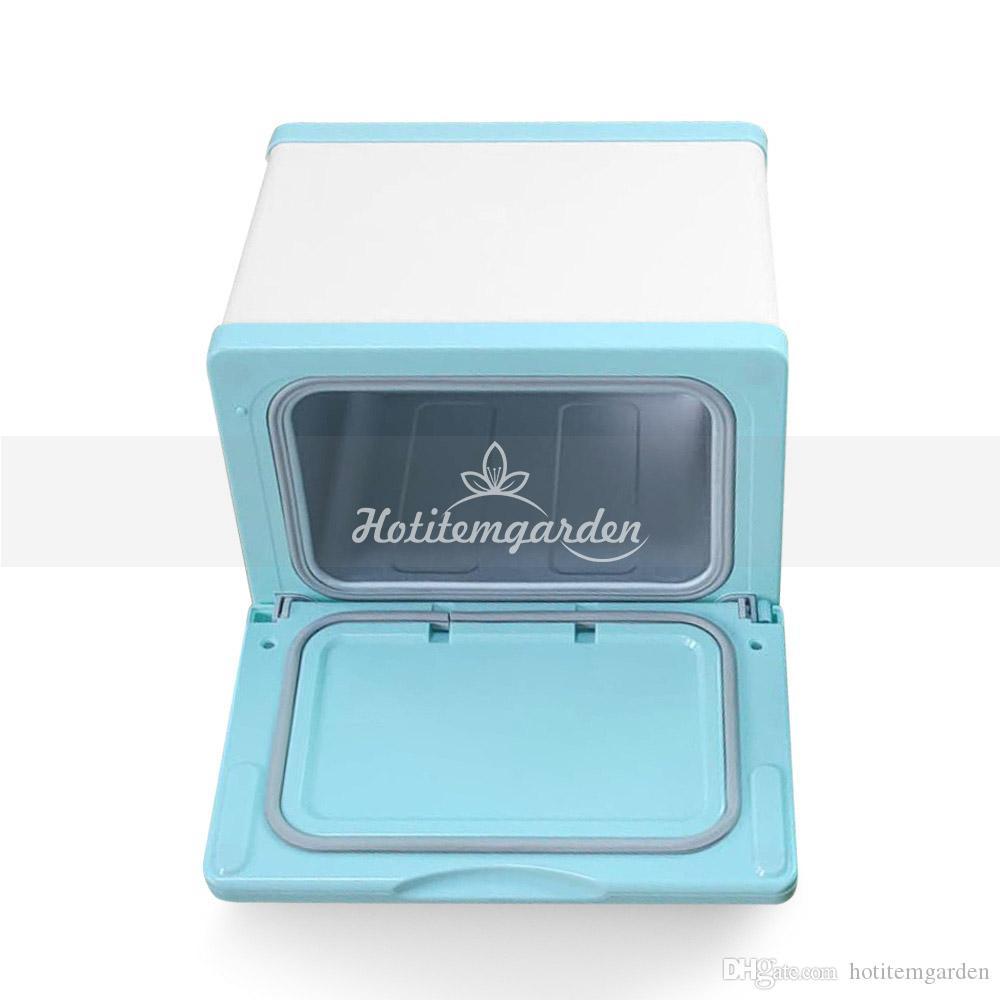 Herramientas de desinfección UV esterilizador de ozono Mini Gabinete de desinfección ultravioleta temporizador de la lámpara de esterilización de belleza Equipo para el salón en el hogar