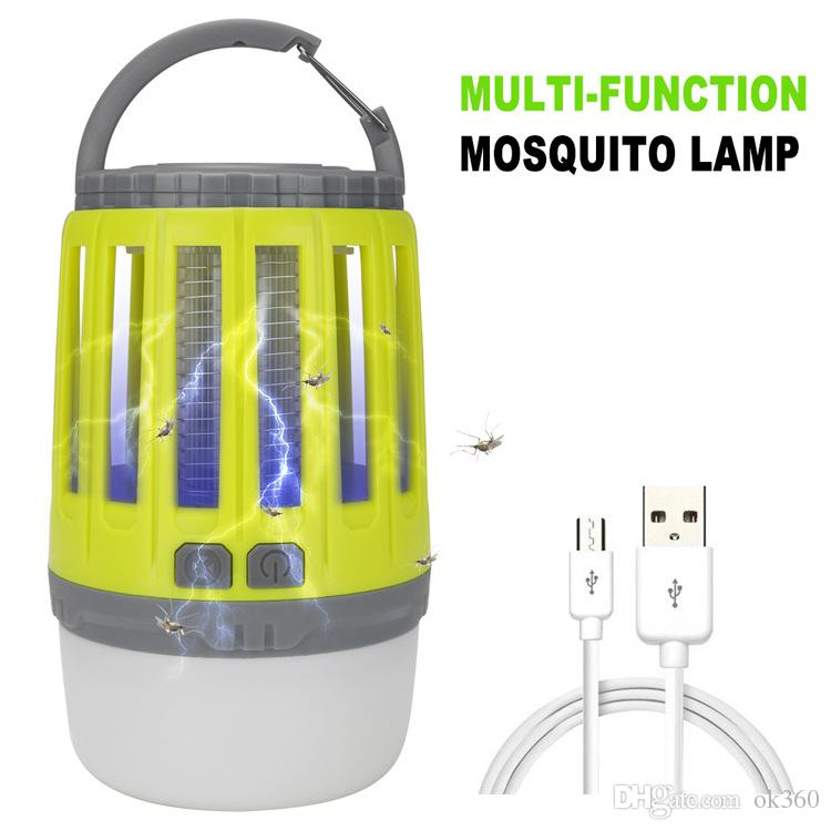 USB شحن البعوض القاتل فخ الصمام ليلة الخفيفة متعدد الوظائف مصباح علة الأنوار الحشرات قتل الحشرات الحشرات المنزل والحديقة التخييم الخفيفة